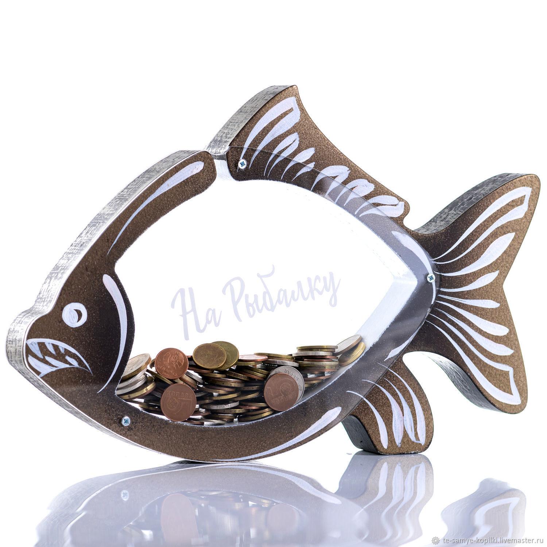 Копилка - Клевая рыбалка на 500 монет!, Копилки, Минск,  Фото №1