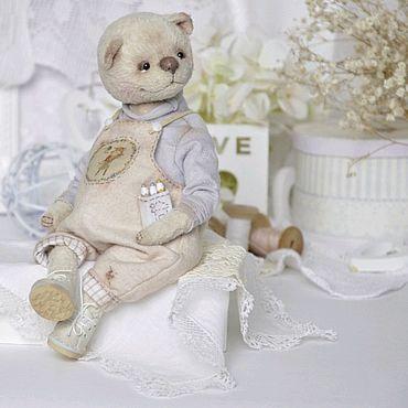 Куклы и игрушки ручной работы. Ярмарка Мастеров - ручная работа Мишка тедди Ванечка Рисовашкин. Handmade.