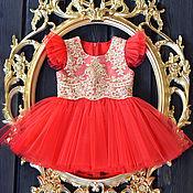 """Платье ручной работы. Ярмарка Мастеров - ручная работа Нарядное платье для девочки """"Рим"""". Handmade."""