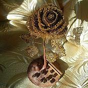 Цветы и флористика ручной работы. Ярмарка Мастеров - ручная работа Розы из бисера. Handmade.