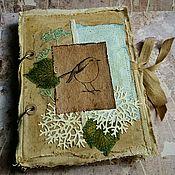 """Канцелярские товары ручной работы. Ярмарка Мастеров - ручная работа Эко альбом """"Летние записки"""". Handmade."""