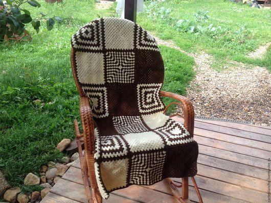 Текстиль, ковры ручной работы. Ярмарка Мастеров - ручная работа. Купить Плед для дачи. Handmade. Комбинированный, плед для дачи