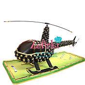 Сувениры и подарки ручной работы. Ярмарка Мастеров - ручная работа Вертолёт из конфет подарок пилоту мужчине самолёт транспорт ребёнку. Handmade.