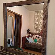 Для дома и интерьера ручной работы. Ярмарка Мастеров - ручная работа Зеркало подвесное из дуба. Handmade.