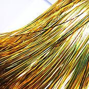 Материалы для творчества ручной работы. Ярмарка Мастеров - ручная работа Бить (металлические полоски) для вышивки. Handmade.