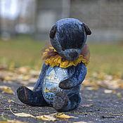 Куклы и игрушки ручной работы. Ярмарка Мастеров - ручная работа Хранитель звездной ночи мишка тедди. Handmade.