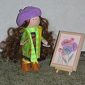 Куклы и игрушки ручной работы. Ярмарка Мастеров - ручная работа Текстильная кукла Художник. Handmade.