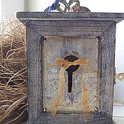 """Для дома и интерьера ручной работы. Ярмарка Мастеров - ручная работа """"Готическое серебро"""" ключница. Handmade."""