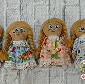 Куклы и игрушки ручной работы. Ярмарка Мастеров - ручная работа Куколка ангелок. Handmade.