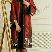 Одежда handmade. Livemaster - original item Cardigan coat from