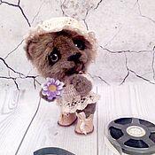 Мишки Тедди ручной работы. Ярмарка Мастеров - ручная работа Мишки Тедди: Машенька. Handmade.