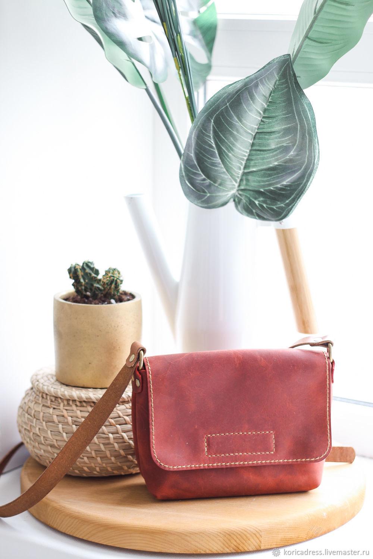Одежда для девочек, ручной работы. Ярмарка Мастеров - ручная работа. Купить Кожаная сумка ручной работы. Handmade.