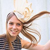 Аксессуары ручной работы. Ярмарка Мастеров - ручная работа шляпка «Калла». Handmade.