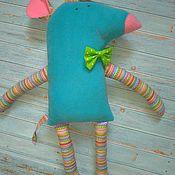"""Мягкие игрушки ручной работы. Ярмарка Мастеров - ручная работа Мягкая игрушка Мышонок"""" Бантик"""". Handmade."""