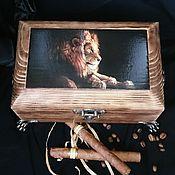 Для дома и интерьера handmade. Livemaster - original item Men`s jewelry box