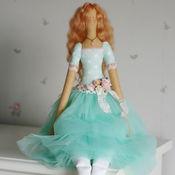Куклы и игрушки ручной работы. Ярмарка Мастеров - ручная работа Текстильная кукла Фелиция. Handmade.