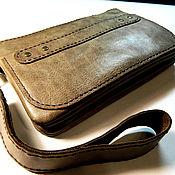 Сумки и аксессуары handmade. Livemaster - original item Of FAVORITE(FAVORITE)crazy horse leather bag. Handmade.