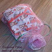 """Работы для детей, ручной работы. Ярмарка Мастеров - ручная работа Комплект для новорожденной """"Зайчики"""", р.56, 8 предметов. Handmade."""