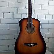Винтаж ручной работы. Ярмарка Мастеров - ручная работа Шестиструнная, винтажная гитара для творчества. Handmade.
