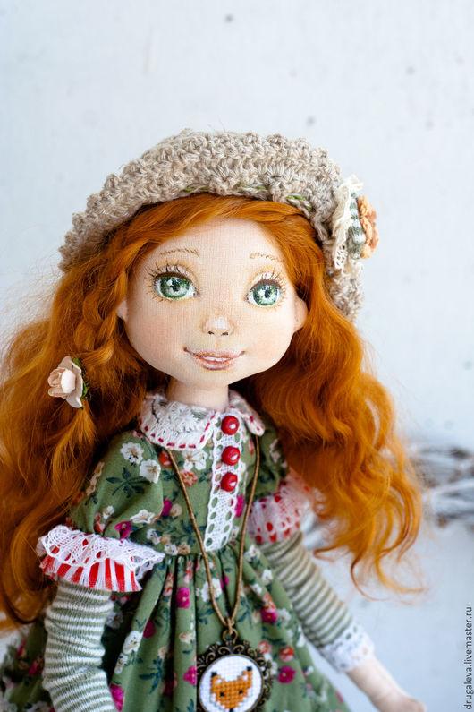 Коллекционные куклы ручной работы. Ярмарка Мастеров - ручная работа. Купить Кукла коллекционная Олеся, текстильная кукла, интерьерная кукла. Handmade.