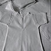 Комплекты одежды ручной работы. Ярмарка Мастеров - ручная работа Крестильный набор Леночка. Handmade.