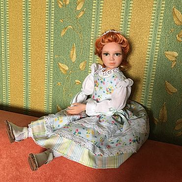 Куклы и игрушки ручной работы. Ярмарка Мастеров - ручная работа Будуарная куколка Анжелика. Handmade.