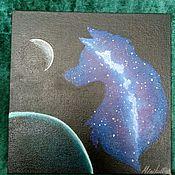 """Картины и панно ручной работы. Ярмарка Мастеров - ручная работа """"Грань"""". Handmade."""