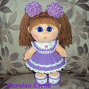 Куклы и игрушки ручной работы. Ярмарка Мастеров - ручная работа Вязаная куколка. Handmade.