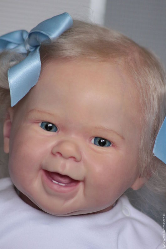 Куклы-младенцы и reborn ручной работы. Ярмарка Мастеров - ручная работа. Купить Майзи от Андреа Арчелло!. Handmade. Ярко-красный