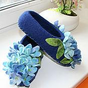 Обувь ручной работы. Ярмарка Мастеров - ручная работа Гортензия. Handmade.