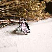 Украшения ручной работы. Ярмарка Мастеров - ручная работа Овальное кольцо COLOR DROPS (розовое). Handmade.