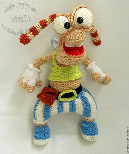 Вязание ручной работы. Ярмарка Мастеров - ручная работа. Купить Жук Жу/ком.игра. Handmade. Комбинированный, жук