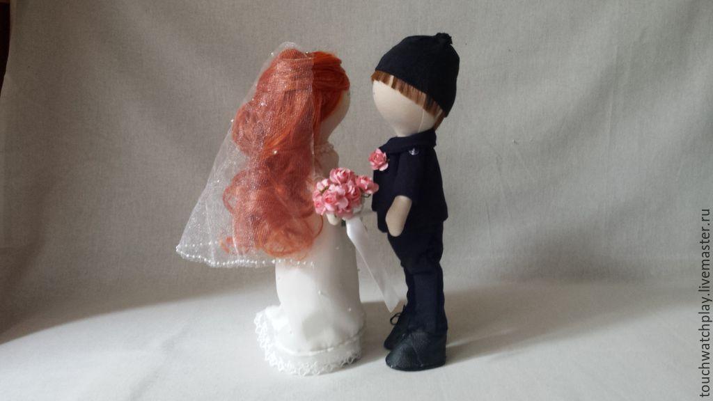 Человечки ручной работы. Ярмарка Мастеров - ручная работа. Купить Свадебная пара тильда. Handmade. Тильда, интерьерная кукла