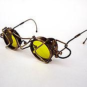 """Субкультуры ручной работы. Ярмарка Мастеров - ручная работа Стимпанк-очки """"Hawksand"""". Handmade."""