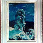 Картины и панно ручной работы. Ярмарка Мастеров - ручная работа на севере диком. Пластилинография.. Handmade.