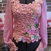 Одежда ручной работы. Ярмарка Мастеров - ручная работа Розовый рассвет. Handmade.