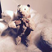 """Куклы и игрушки ручной работы. Ярмарка Мастеров - ручная работа Ватная елочная игрушка """"Топтыжка"""". Handmade."""