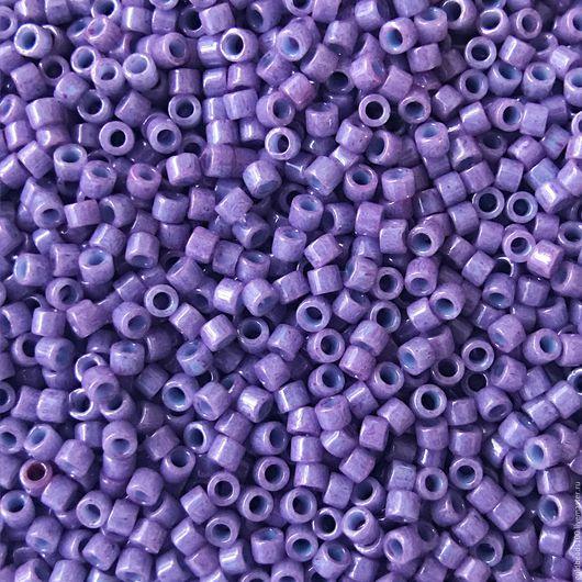 Для украшений ручной работы. Ярмарка Мастеров - ручная работа. Купить 10 ГР MIYUKI DELICA 11/0 DB660 opaque lavender. Handmade.