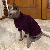Одежда для питомцев ручной работы. Ярмарка Мастеров - ручная работа Одежда/свитер для кошек. Handmade.