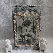 """Для дома и интерьера ручной работы. Ярмарка Мастеров - ручная работа Ключница """"Детишки"""". Handmade."""