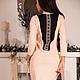 """Платья ручной работы. Ярмарка Мастеров - ручная работа. Купить Платье """"Розовое вино"""". Handmade. Вязаное платье, платье с кружевом"""