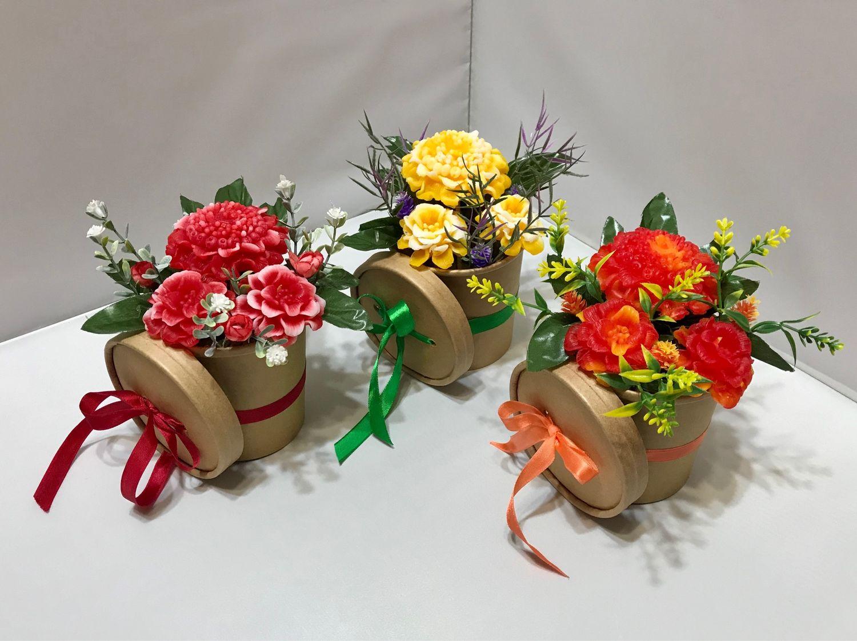 Цветочная композиция «Цинния и бархотки» в подарок женщине букет, Композиции, Москва,  Фото №1