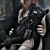 Мягкие игрушки ручной работы. Ярмарка Мастеров - ручная работа Black Prince, 50 см. Handmade.