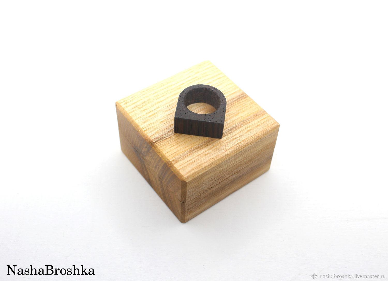 Коробочка для кольца/колец деревянная, Шкатулки, Саранск,  Фото №1