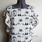 """Одежда ручной работы. Ярмарка Мастеров - ручная работа Блузка """"Кэти"""". Handmade."""
