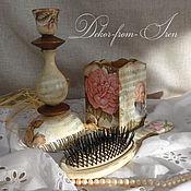 """Для дома и интерьера ручной работы. Ярмарка Мастеров - ручная работа комплект """"Моцарт и розы"""". Handmade."""