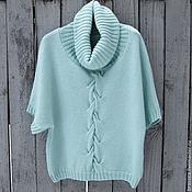 Одежда ручной работы. Ярмарка Мастеров - ручная работа Герда пуловер вязаный женский. Handmade.