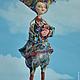 Коллекционные куклы ручной работы. Скоморошинка. Радуга Гульнара Мухтарова (Rainbow-Dolls). Ярмарка Мастеров. Авторская ручная работа