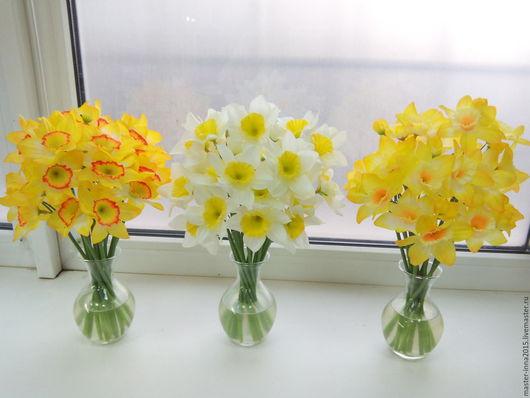 Искусственные растения ручной работы. Ярмарка Мастеров - ручная работа. Купить Искусственные цветы в стеклянной вазе с имитацией воды.. Handmade.