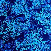 Материалы для творчества ручной работы. Ярмарка Мастеров - ручная работа Хлопок Синий. Handmade.